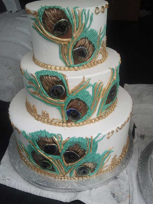 Fondant Weddings Cakes